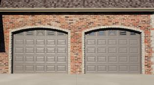 raised-panel-garage-doors